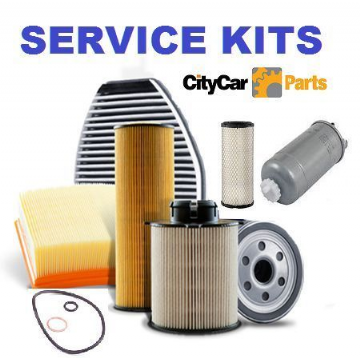 FIAT GRANDE PUNTO 1.2,1.4 8V OIL AIR POLLEN FILTER & PLUGS SERVICE KIT